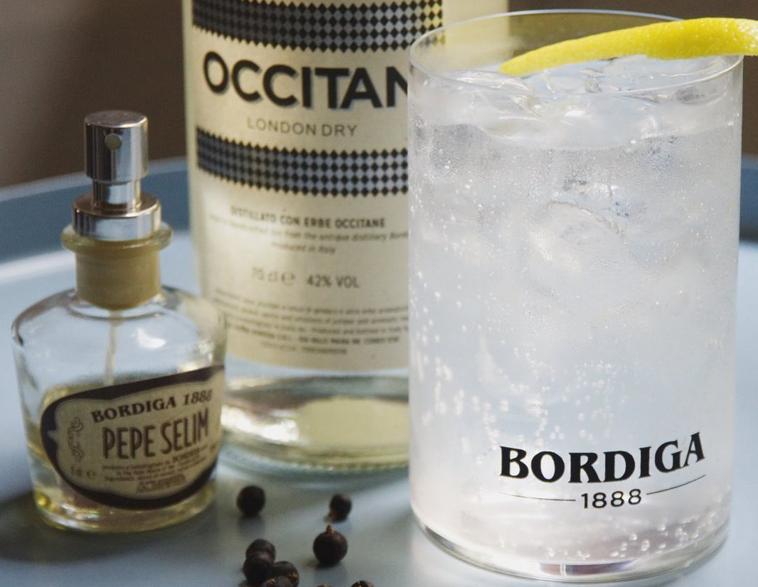 Gin tonic Bordiga